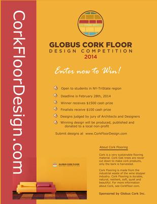 Creativity Rewarded by CorkFloorDesign.com. (PRNewsFoto/Globus Cork Inc.) (PRNewsFoto/GLOBUS CORK INC.)