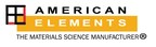 American Elements - The Materials Science Manufacturer.