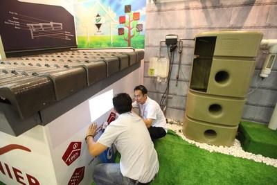 Presence of global industry players expected at Ecobuild SEA / ICW 2014 (Photo: Ecobuild SEA 2013) (PRNewsFoto/UBM Asia Ltd)