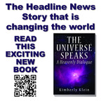 """The Universe Speaks: A Heavenly Dialogue"" A Book by Kimberly Klein.  (PRNewsFoto/PMA Press)"