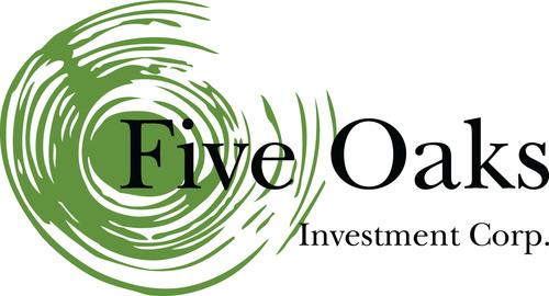 Five Oaks Investment Corp. logo.  (PRNewsFoto/Five Oaks Investment Corp.)