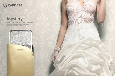 Capdase's ultra-slim Mystery case comes in a transparent back cover adorned with an enchanting embossed pattern to showcase the elegance of every woman. (PRNewsFoto/Capdase)