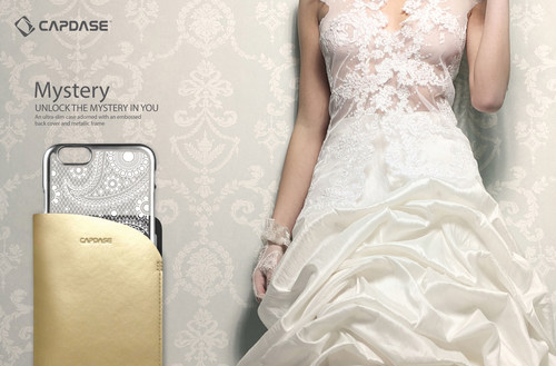 Capdase's ultra-slim Mystery case comes in a transparent back cover adorned with an enchanting embossed ...