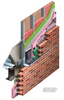 Five of the most recognized and trusted companies in the construction industry have aligned to create the industry's best complete masonry cavity wall system. Owens Corning worked closely with industry leaders and their products to create a completely compatible, code compliant and warrantied system. The CavityComplete(TM) Wall System for Steel Stud with Masonry Veneer makes it easier to specify and detail an assembly with components that are tested and proven to work together. The CavityComplete(TM) Wall System is the only wall system that is warrantied to reduce liability and allow architects and specifiers to design and specify with confidence. (PRNewsFoto/Owens Corning)