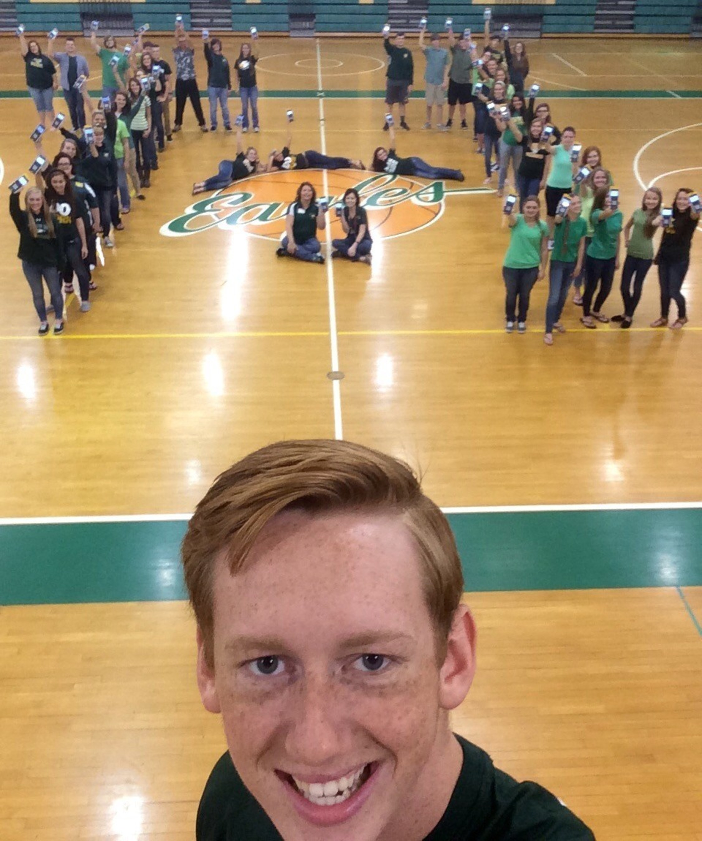 "North Bullitt High School ""makes math SOAR"" with TI Technology to win the #TISelfieContest"