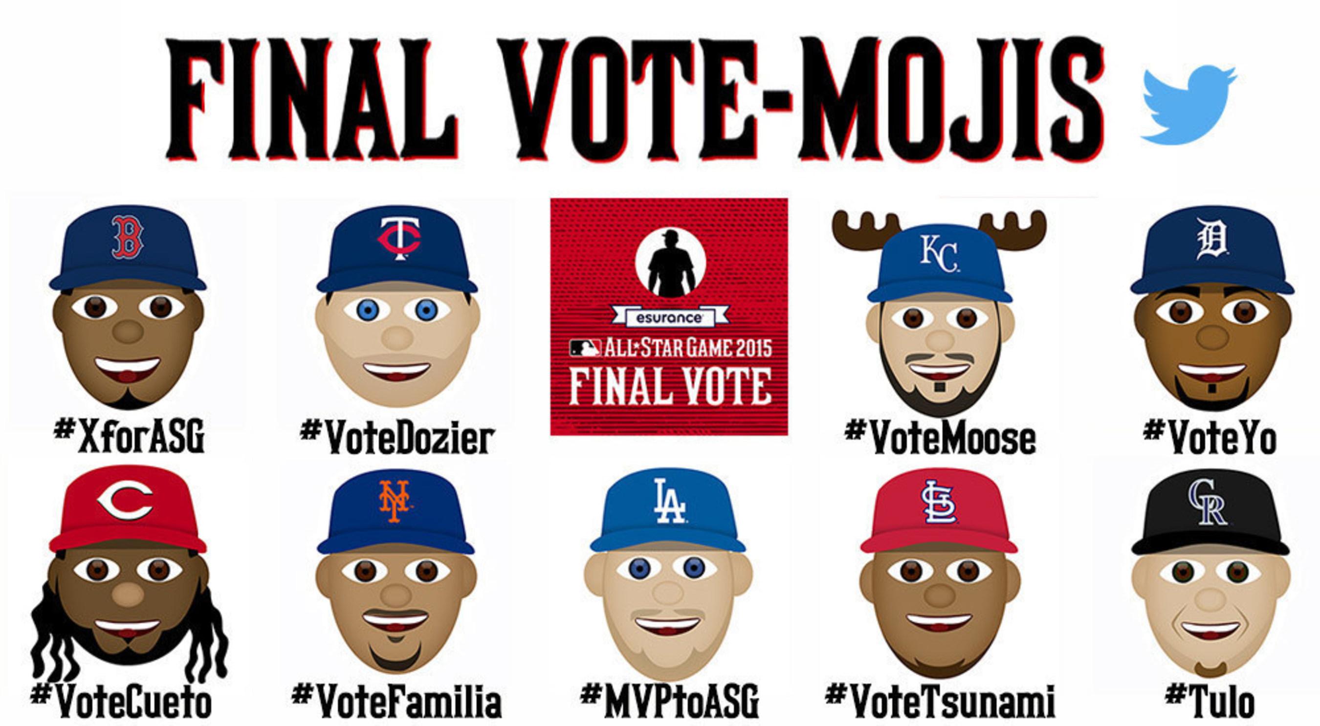 Final Vote-Mojis for 2015 Esurance MLB All-Star Game