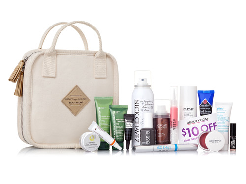 Beauty.com(R) Debuts the Shipley & Halmos(TM) Narita Travel Case.  (PRNewsFoto/Beauty.com, Inc.)