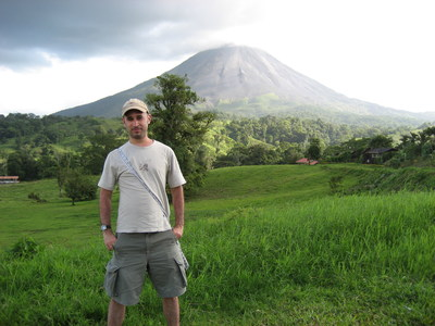 Michael Dixon pictured in Costa Rica, days before his disappearance.