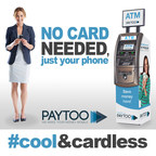 No Card needed anymore! (PRNewsFoto/PayToo Corp)