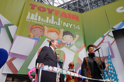 The Toy Industry Association's (TIA) 111th American International Toy Fair opened this morning in New York ...