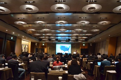 Japan's top grocery retailers, food importers distributors and policy officials learn about U.S. organic products in a seminar held recently in Japan.