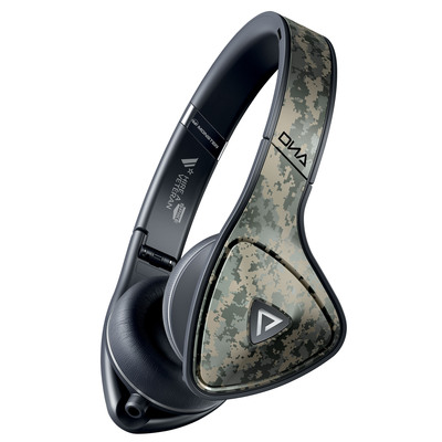 """Monster And Spike TV Partner To Create Special Monster DNA ™ Camouflage Headphones To Support The Network's """"Hire A Vet"""" Initiative"""