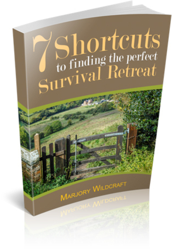 7 Shortcuts To Finding The Perfect Survival Retreat.  (PRNewsFoto/Marjory Wildcraft)
