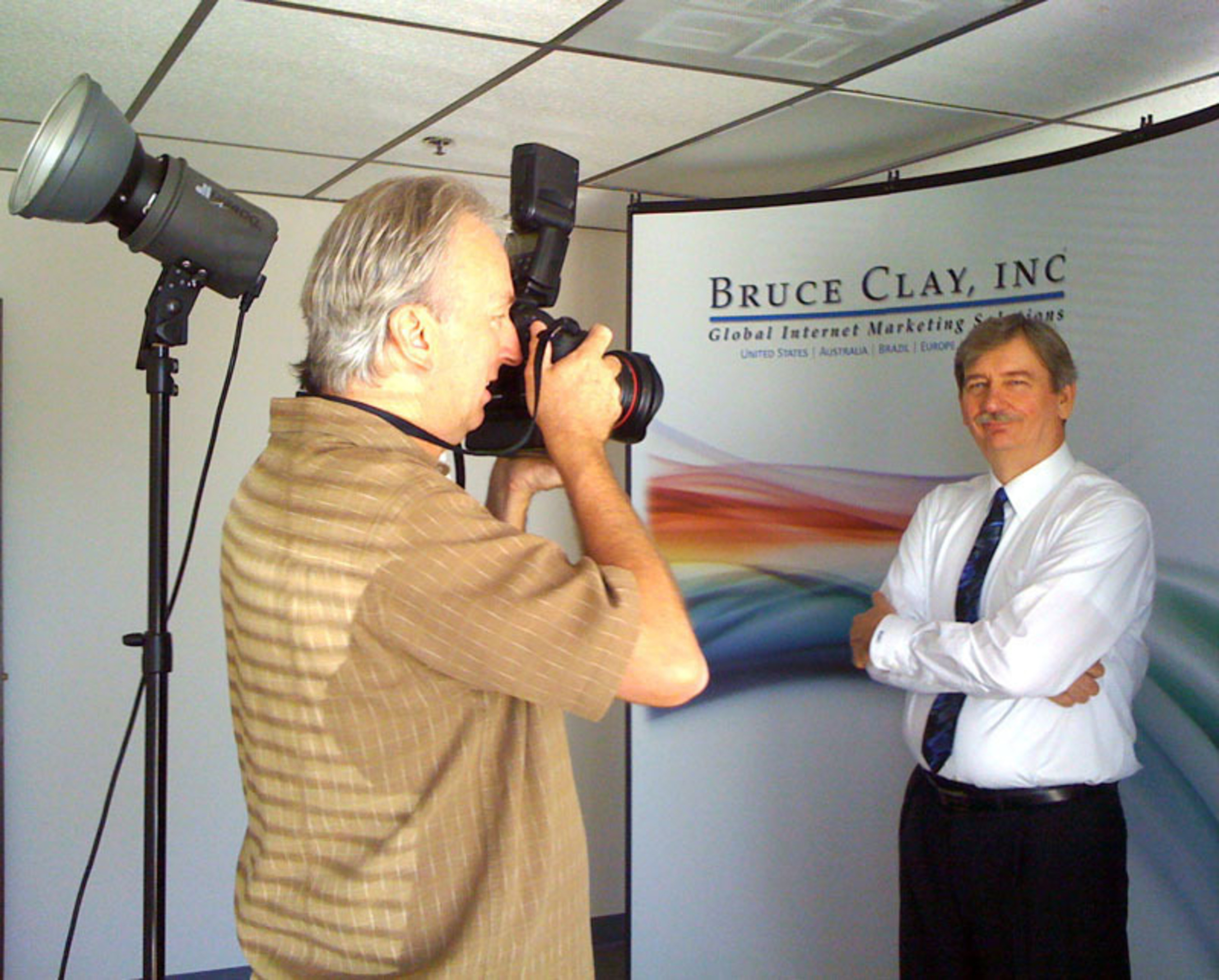 Bruce Clay is photographed for a feature in the San Fernando Valley Business Journal following the company's seventh consecutive year in the INC 5000.  (PRNewsFoto/Bruce Clay, Inc.)