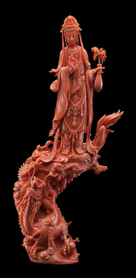 Coral Sculptures from Mr. Huang Chung-Shan