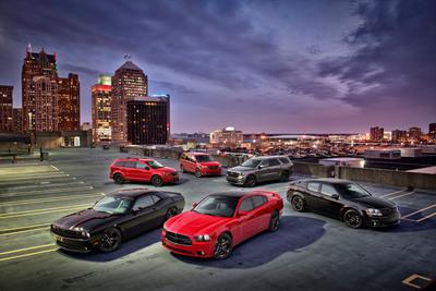 2013 Dodge Blacktop Editions.  (PRNewsFoto/Chrysler Group LLC)