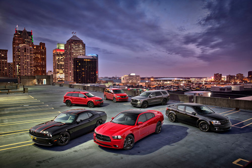 Dodge Expands Sinister Blacktop Package Offering From Cars to Seven Passenger Vehicles - Durango,