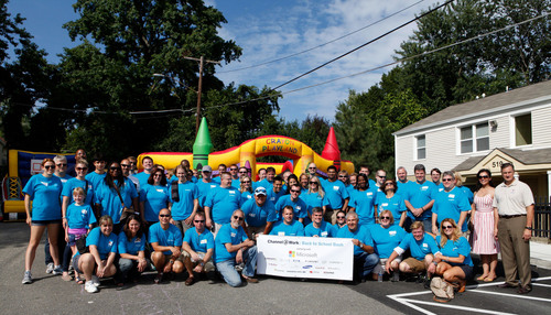 The Channel Company's Channel@Work giving back across the country in 2013. (PRNewsFoto/The Channel Company)  ...