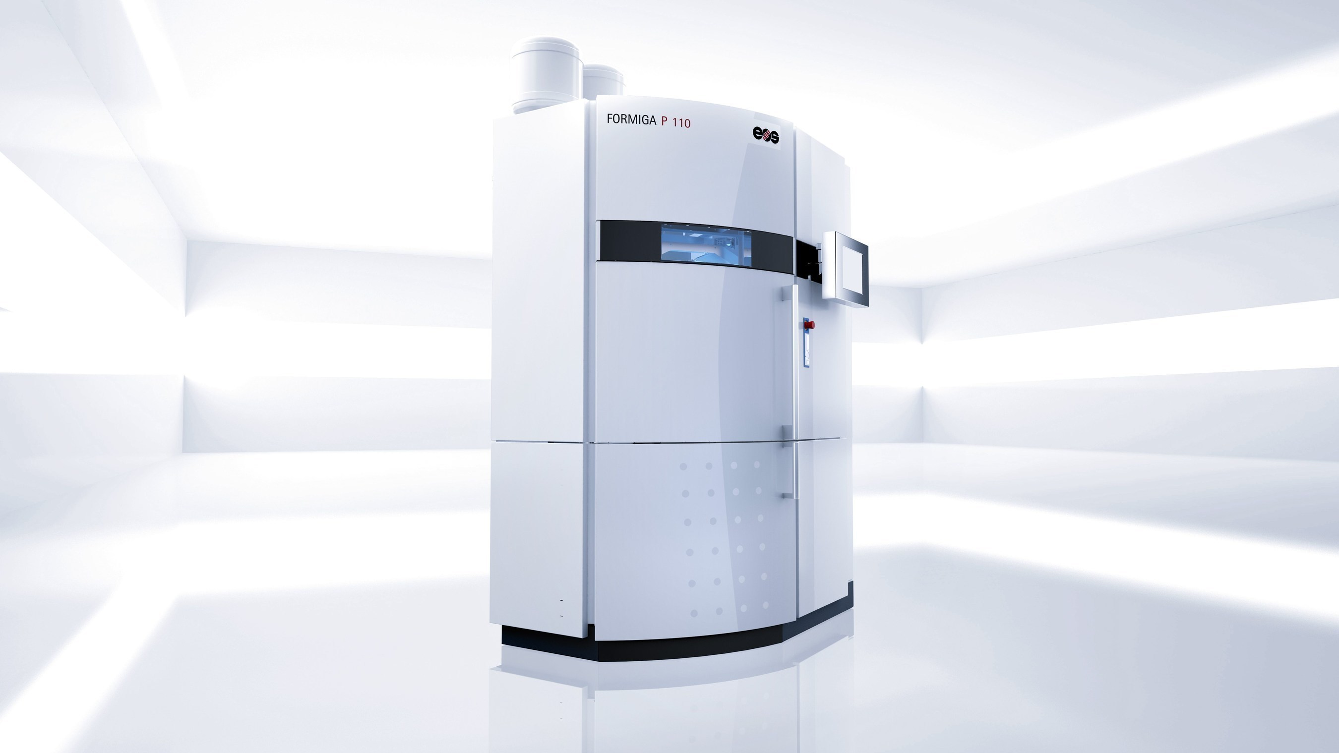 FORMIGA P 110 is a flexible, cost-efficient and highly productive system for the Additive Manufacturing of polymer parts (Source EOS). (PRNewsFoto/EOS Electro Optical Systems)