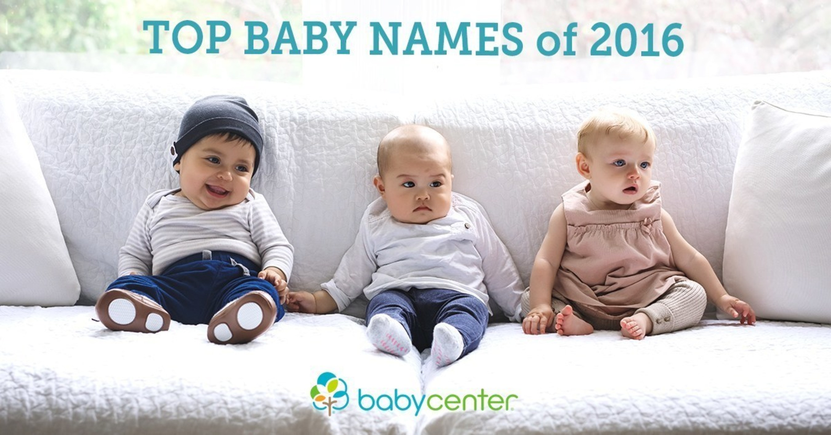 BabyCenter Top Baby Names of 2016