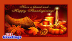 On Thanksgiving 2014, 123Greetings.com Thanks Its Users For Making It Their Preferred Ecards Website
