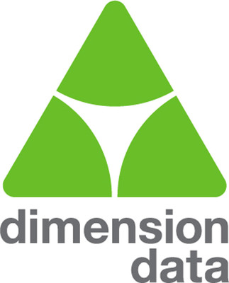 Dimension Data logo.