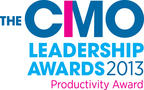 The CMO Leadership Awards 2013 - Productivity Award.  (PRNewsFoto/Cedarburg Hauser Pharmaceuticals)