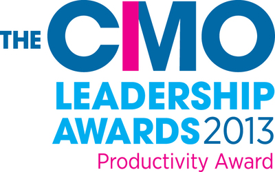 The CMO Leadership Awards 2013 - Productivity Award.  (PRNewsFoto/Cedarburg Hauser Pharmaceuticals)
