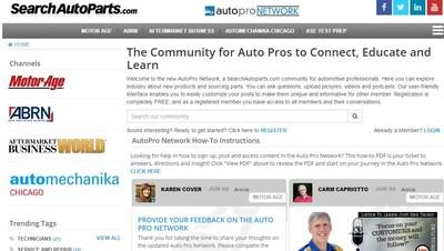 Social media network for automotive aftermarket professionals.