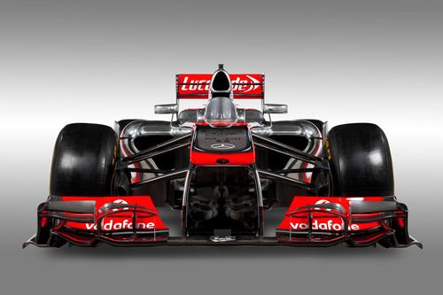 Vodafone McLaren Mercedes uses Intralinks to share highly sensitive information, like for their Formula-1 MP4-28 racecar. (C) Vodafone McLaren Mercedes.  (PRNewsFoto/Intralinks Holdings Inc.)