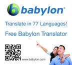 Babylon.com Reveals: Babylon 10 - Redefining Translation.  (PRNewsFoto/Babylon.com)