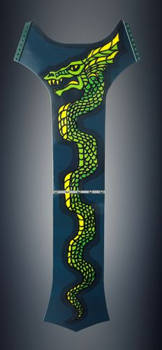 Michaella Janse van Vuuren designed Serpent belt – 3D printed using flexible color material on the Objet500 ...