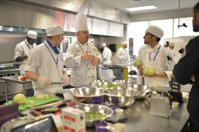 Abide Laboy, FTC College Culinary Arts Instructor, explains the program's goals and objectives.