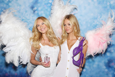 "Victoria's Secret Introduces ""Angel"" the New Fragrance and an All-New Dream Angels Bra Collection.  (PRNewsFoto/Victoria's Secret, Marion Curtis)"