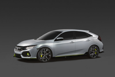 2017 Honda Civic Hatchback Prototype debuts in New York City
