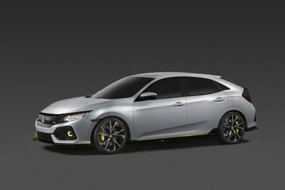 2017 Honda Civic Hatchback Prototype debuts in New York City