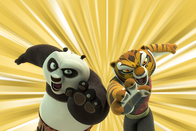 Nickelodeon and Dreamworks Animation Premiere Kung Fu Panda:  Legends of Awesomeness Nov. 7, at 5:30 p.m.  (PRNewsFoto/Nickelodeon)