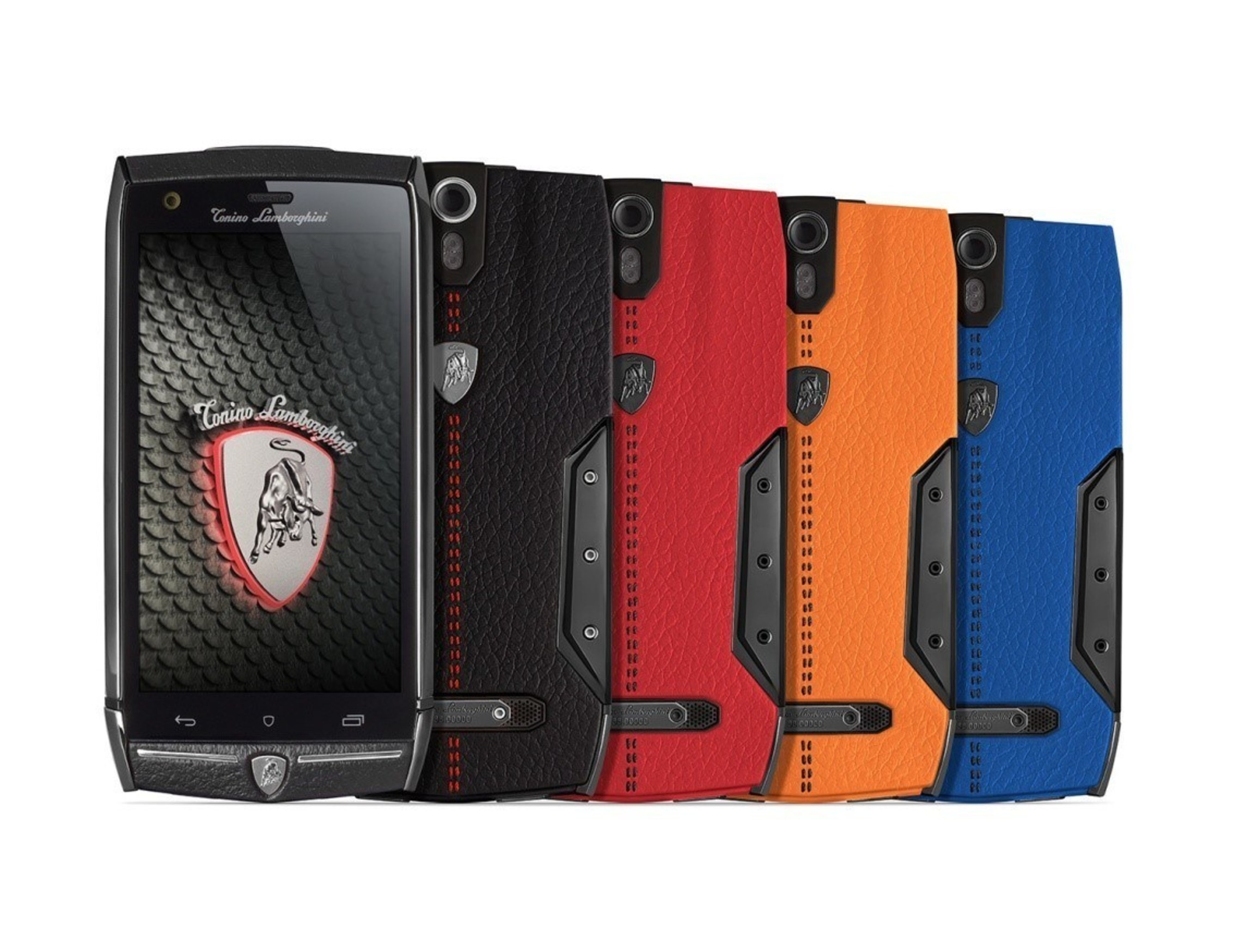 Tonino Lamborghini Mobile today unveiled its latest high-end Android smartphone, the 88 Tauri, at CES 2015