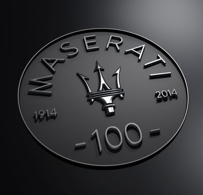 "Today, Maserati officially enters its 100th Anniversary year enjoying unprecedented health and growth. Two new sedans, the flagship Quattroporte and mid- size Ghibli propel Maserati and define ""The Absolute Opposite of Ordinary,"" a testament to the company's first 100 years and a guideline for the next. Italian style, performance, and comfort are now more accessible as the Ghibli has taken markets by storm. Maserati's Trident, inspired from an Italian sculpture, has itself inspired the Maserati Centennial Logo to represent this occasion. www.maserati100.com will keep the global friends and family of Maserati apprised of activities along with special section of www.maserati.com. (PRNewsFoto/Maserati) (PRNewsFoto/MASERATI)"