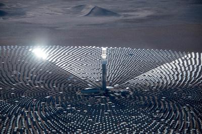 SolarReserve's Crescent Dunes Solar Energy Plant, U.S.A.