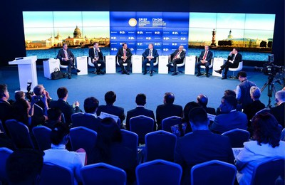 SPIEF's official business programme comprised over 100 sessions (PRNewsFoto/Roscongress Foundation)