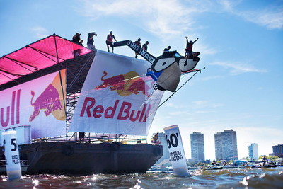 National Red Bull Flugtag announced the start of application phase for never-before-seen five events in one day in DC, Miami, Chicago, Dallas/Ft. Worth and Long Beach.   (PRNewsFoto/Red Bull)