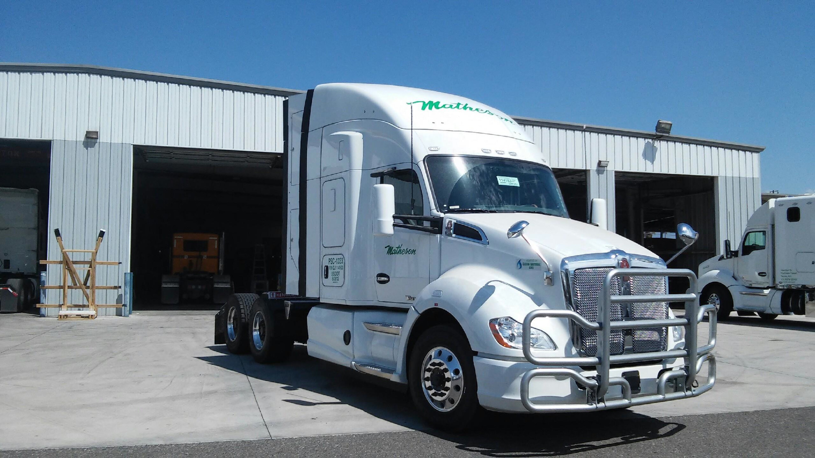 Matheson Trucking, Inc.'s Postal Services Division Continues To Build a 'Green' Fleet With 37 New CNG/LNG Tractors