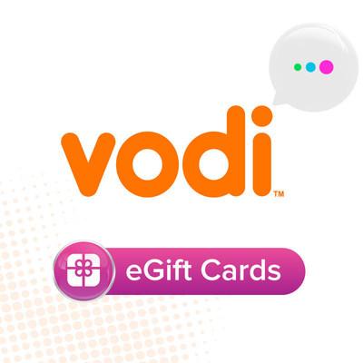 Vodi eGift Cards