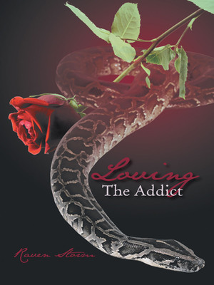 """Loving The Addict"" Book Cover.   (PRNewsFoto/iUniverse Inc.)"