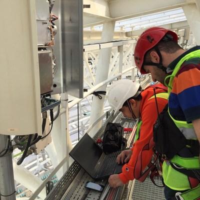 Baku Olympic Stadium FlexWave Prism DAS remote installation