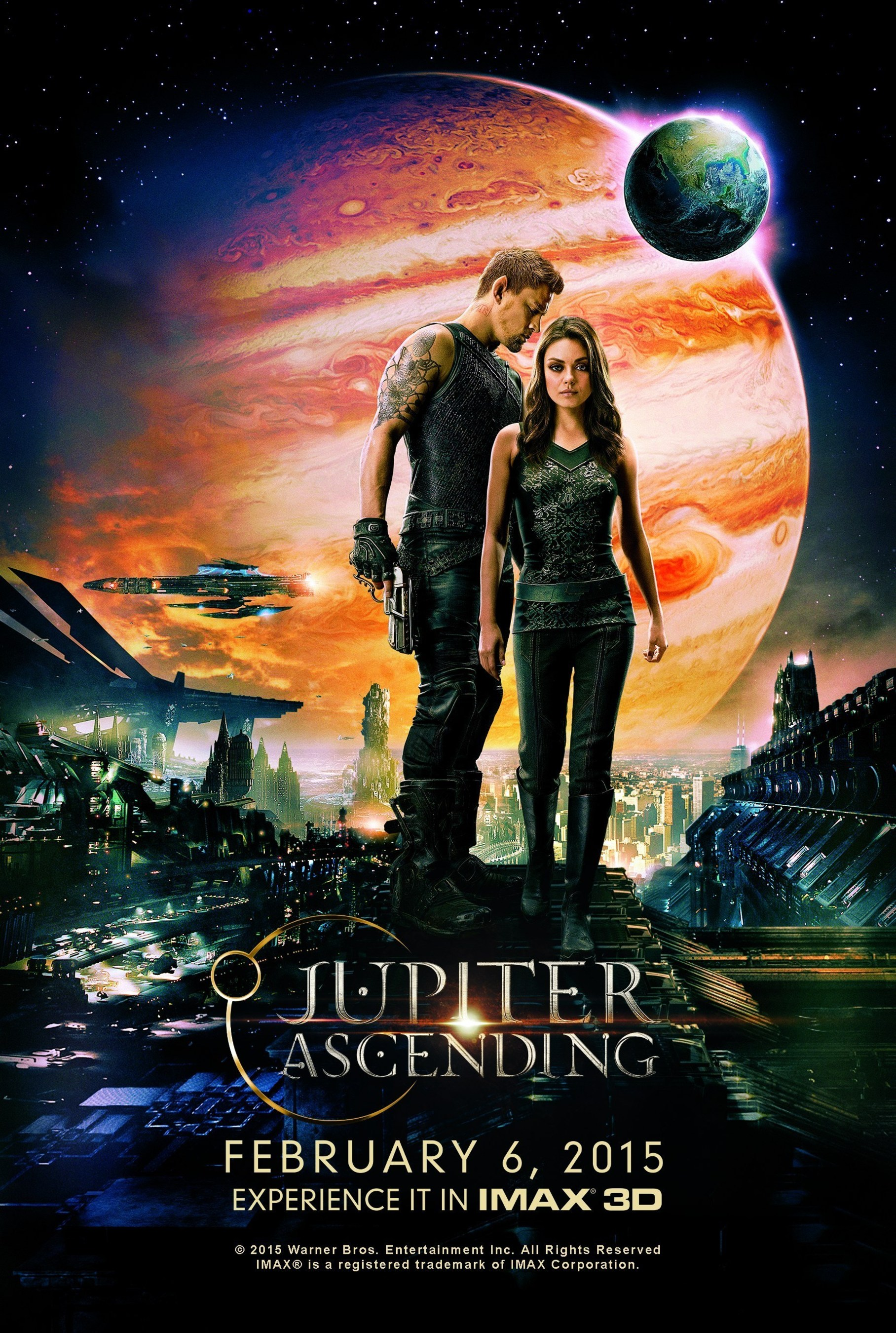 """IT'S AN OUT OF THIS WORLD CELEBRATION! International Star Registry has teamed up with Warner Bros. Pictures to celebrate the release of the new movie, """"Jupiter Ascending,"""" in theaters beginning February 6th from Warner Bros. Pictures and Village Roadshow Pictures."""