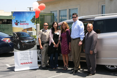 Nissan Partners With Koreatown Youth & Community Center and California Highway Patrol to Promote Child-Passenger Safety