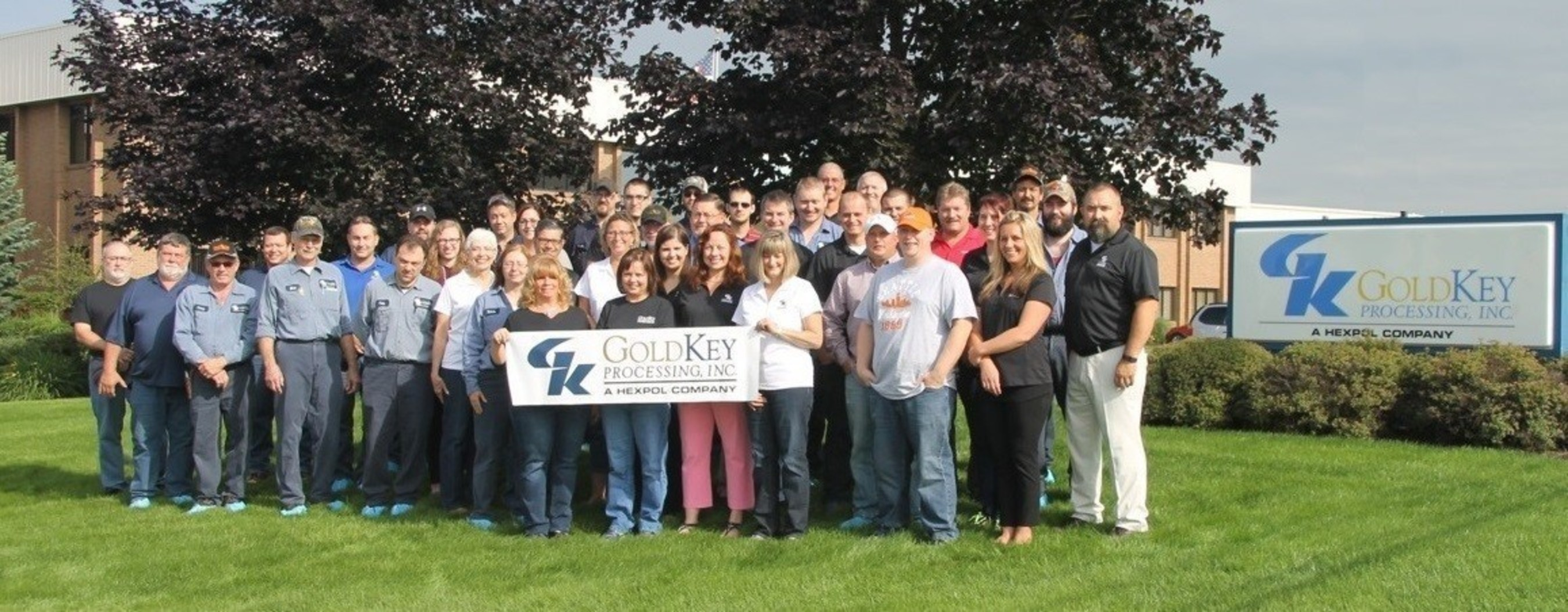 Gold Key Processing, one of HEXPOL's northeast Ohio facilities, takes pride for being ranked in The Cleveland Plain Dealer's 2015 Top 150 Workplaces for the third year in a row.