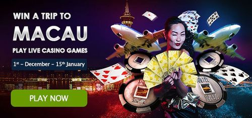Win a trip to Macau with GalaCasino.com (PRNewsFoto/Gala Interactive Limited)